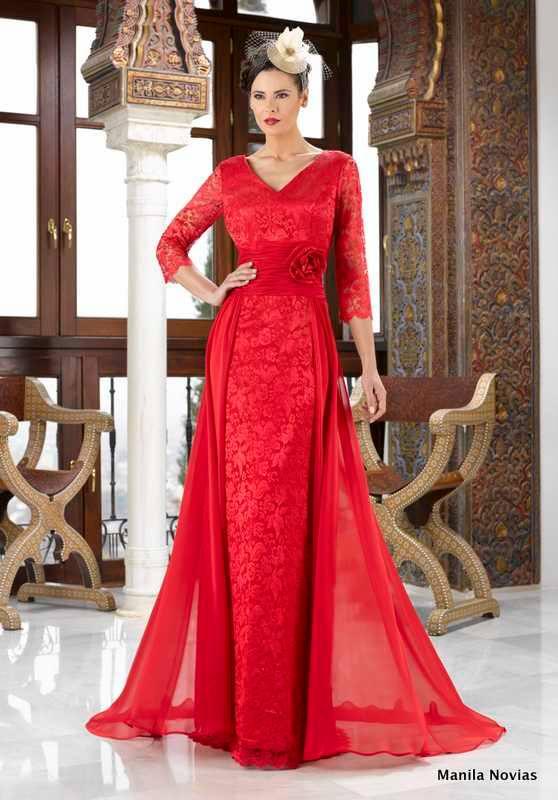 vestidos de fiesta rojo